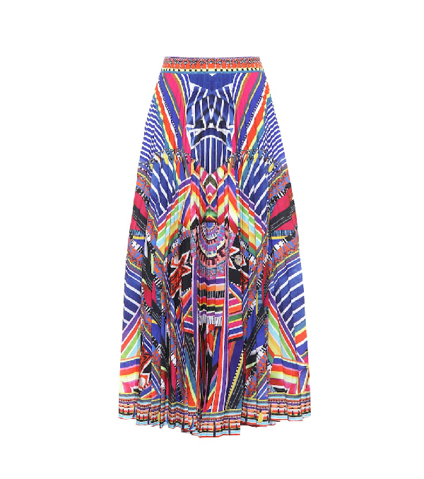 044f35048 Camilla Tsachila Blessing Pleated Skirt | ModeSens