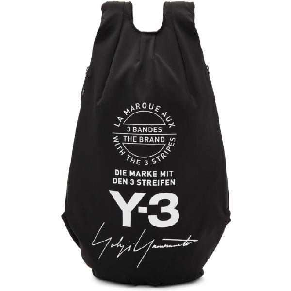 Y-3 Yohji Backpack In Black