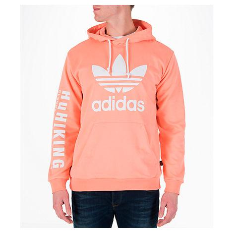 031a7e04d Adidas Originals X Pharrell Williams Hu Hiking Hoodie With Arm Print In  Pink Cy7875 - Pink