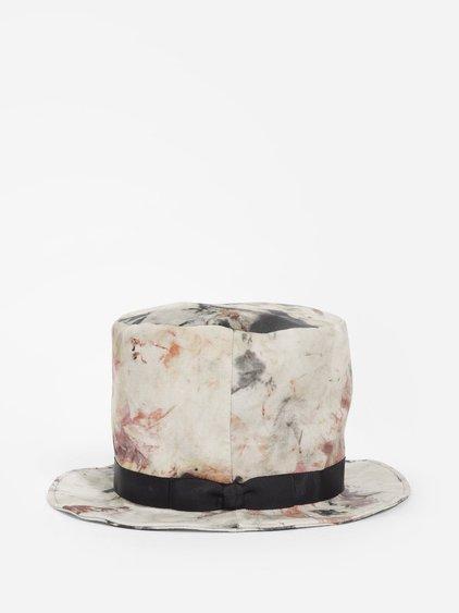 Yohji Yamamoto Multicolor Circular Shaped Hat