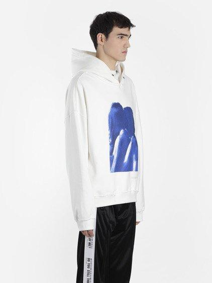 Misbhv Ss18- 109 Dystom Hoodieoff White In Off White