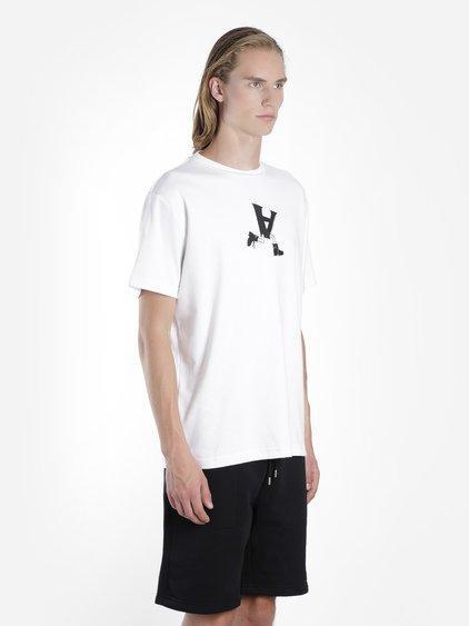 Alyx Globe Trotting Printed T-shirt In White