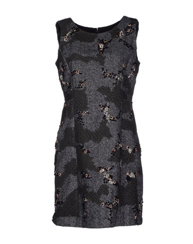 Theory Short Dresses In Black