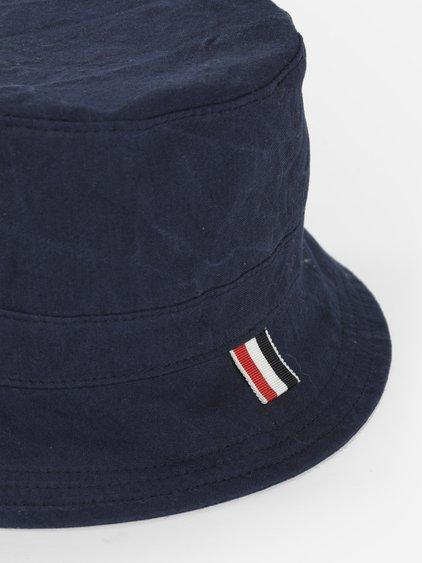 5561a262b4d Thom Browne Men s Blue Lined Bucket Hat
