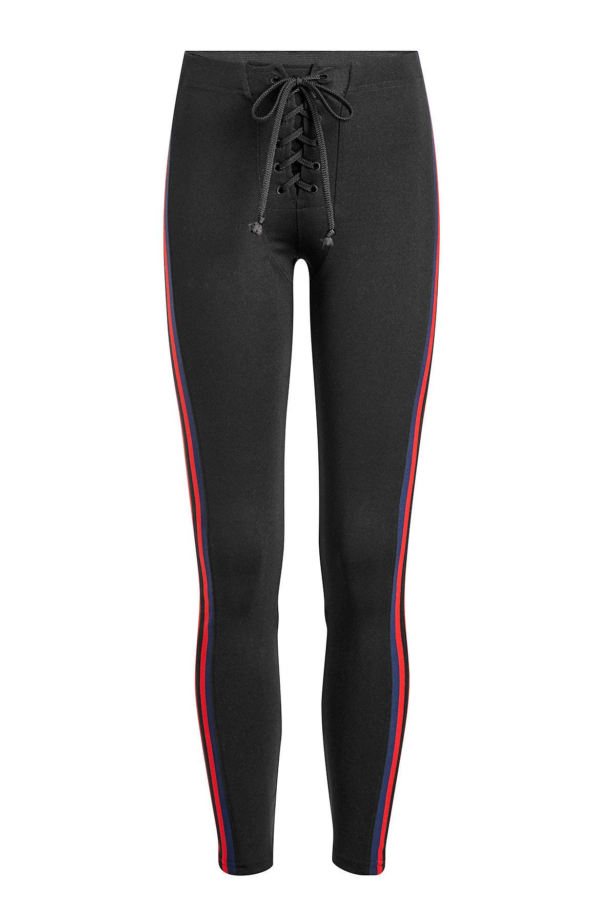 8863b31cb620c Yeezy Leggings With Lace-Up Front In Black | ModeSens