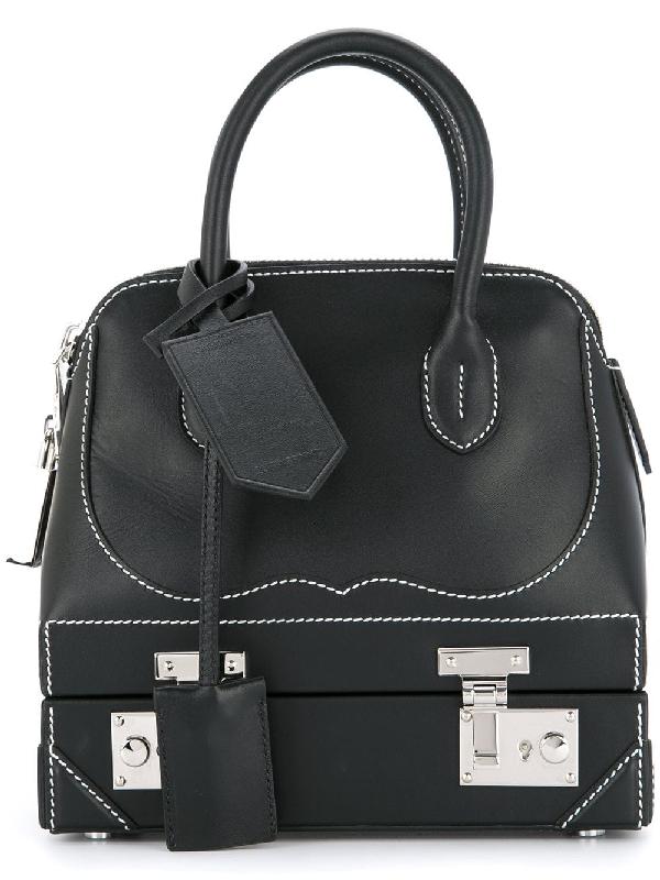 7956921652 Calvin Klein Bugatti Mini Western Satchel Bag In Black | ModeSens