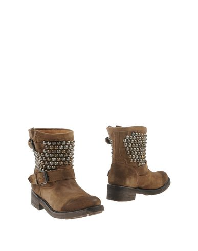 Ash Ankle Boots In Khaki