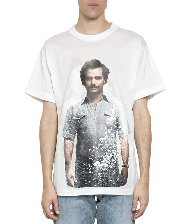 Ih Nom Uh Nit Pablo Cotton T-Shirt In Bianco