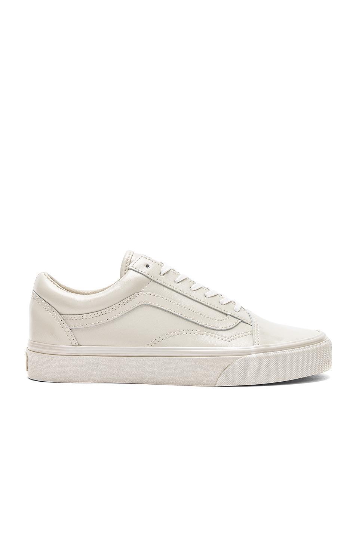 596fc2f831 Vans Metallic Sidewall Old Skool Sneaker In Gray