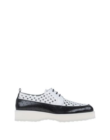 Pierre Hardy Lace-Up Shoes In White