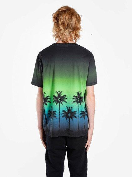 Marcelo Burlon County Of Milan Marcelo Burlon Men's Multicolor Palms T-shirt