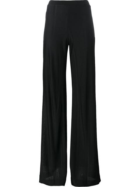 Missoni Flared Trousers In Black