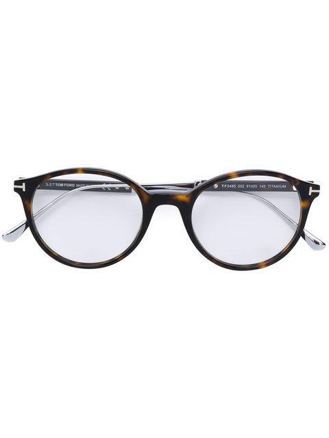 tom ford eyewear brille in schildpattoptik braun modesens. Black Bedroom Furniture Sets. Home Design Ideas