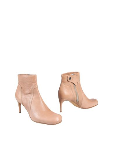 Rick Owens Ankle Boot In Beige
