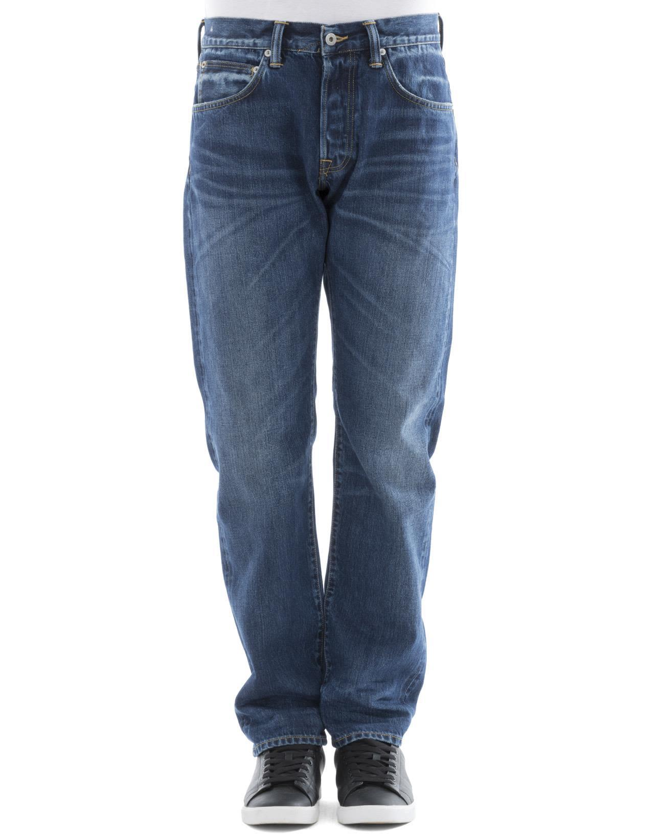 Edwin Blue Cotton Jeans