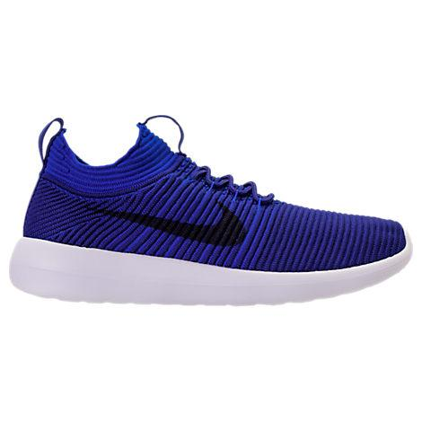 best service bc6eb 12619 Nike Men S Roshe Two Flyknit V2 Casual Sneakers From Finish Line In ...
