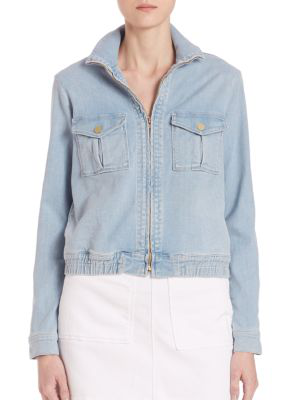 Frame Le Citadel Denim Jacket In Barrington
