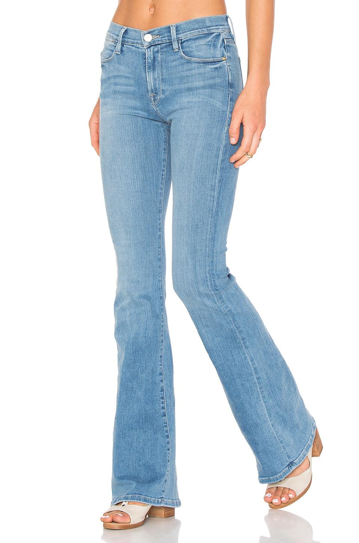 Frame Women's Le High Flare Sunnyspot Jeans