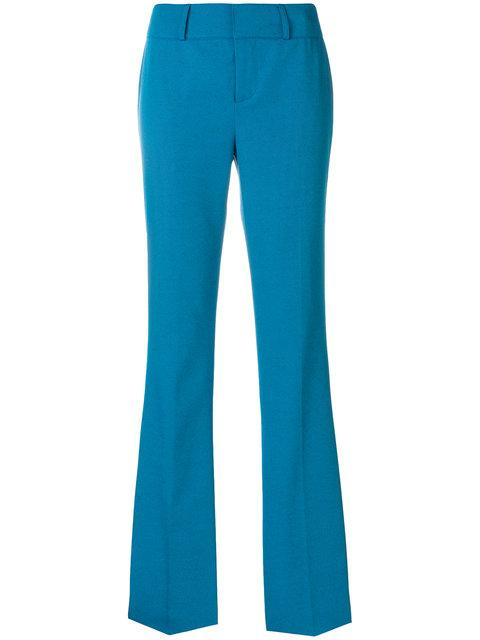 Marni Tailored Bootcut Trousers In Blue