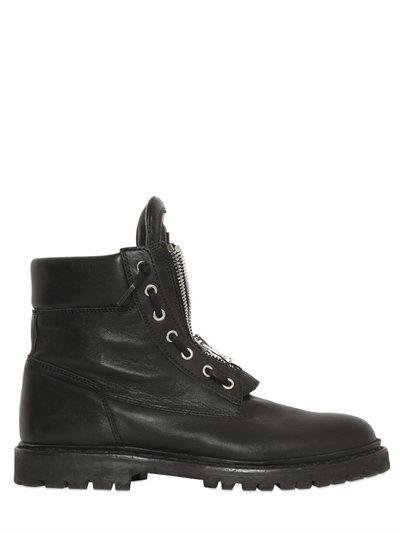 Balmain Taiga Ankle Boots