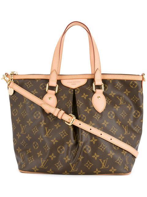 80abcae84fcb8 Louis Vuitton Vintage Palermo Pm 2-Way Shoulder Bag - Farfetch In Brown