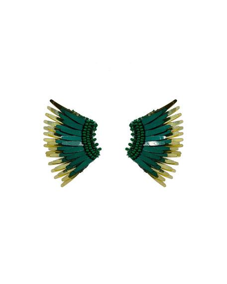 Mignonne Gavigan Mini Madeline Statement Earrings In Turquoise