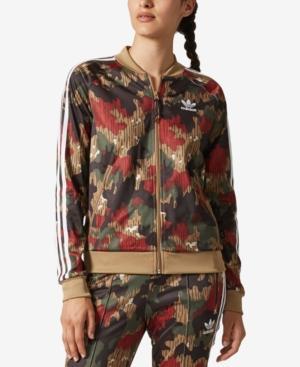 new arrive save off low price Women's Originals Pharrell Williams Hu Hiking Sst Track Jacket, Black in  Camo