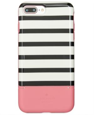 new style fddb1 0dc70 KATE SPADE NEW YORK STRIPED CREDIT CARD IPHONE 8 PLUS CASE
