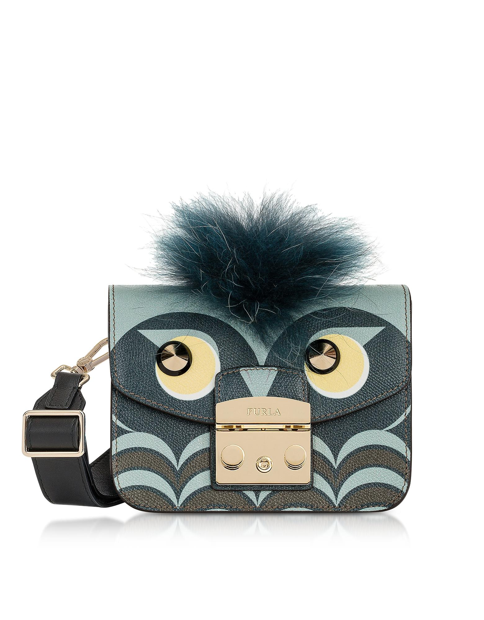73b73dbb1a Furla Metropolis Jungle Owl Mini Crossbody Bag
