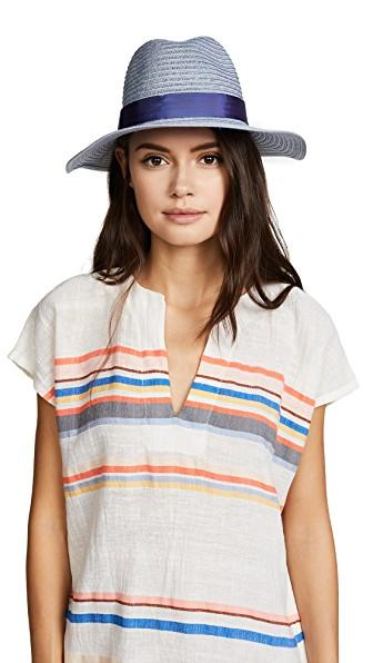 27d7ed7f28352 Eugenia Kim Courtney Packable Fedora Hat In Blue
