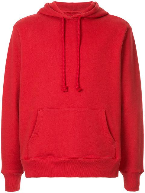 53083aa69314a6 424 Safety Pin Hoodie In Red