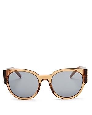 723eb2d6854 Saint Laurent Women's Mirrored Round Sunglasses, 54Mm In Nude | ModeSens