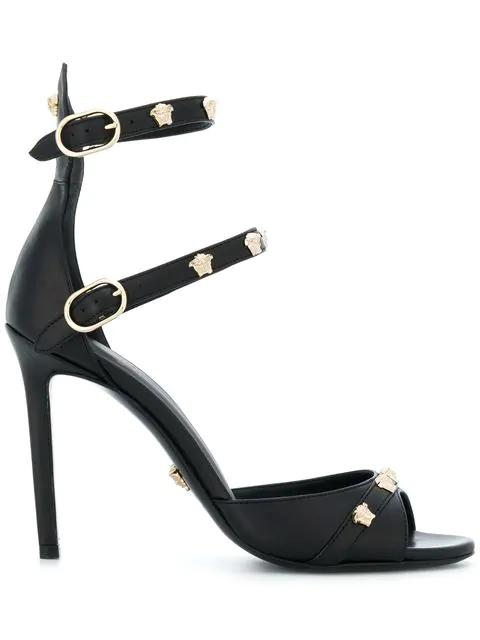 Versace Medusa Stud Strap Sandals In D41Oc