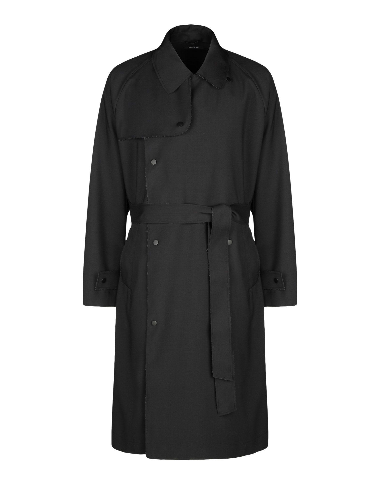 Emporio Armani Coat In Black