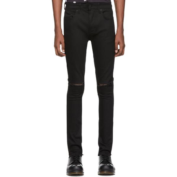 Ksubi Van Winkle Ace Slice Skinny Fit Jeans In Black
