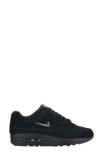 e2fc35e2d2 Nike Air Max 1 Premium Sc Sneaker In Black/ Metallicsilver-Wolfgrey ...
