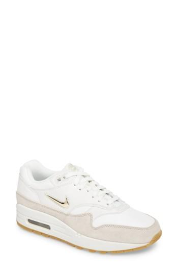 8902214adc Nike Air Max 1 Premium Sc Sneaker In Bordeaux/ Beige-Orewood Brn ...
