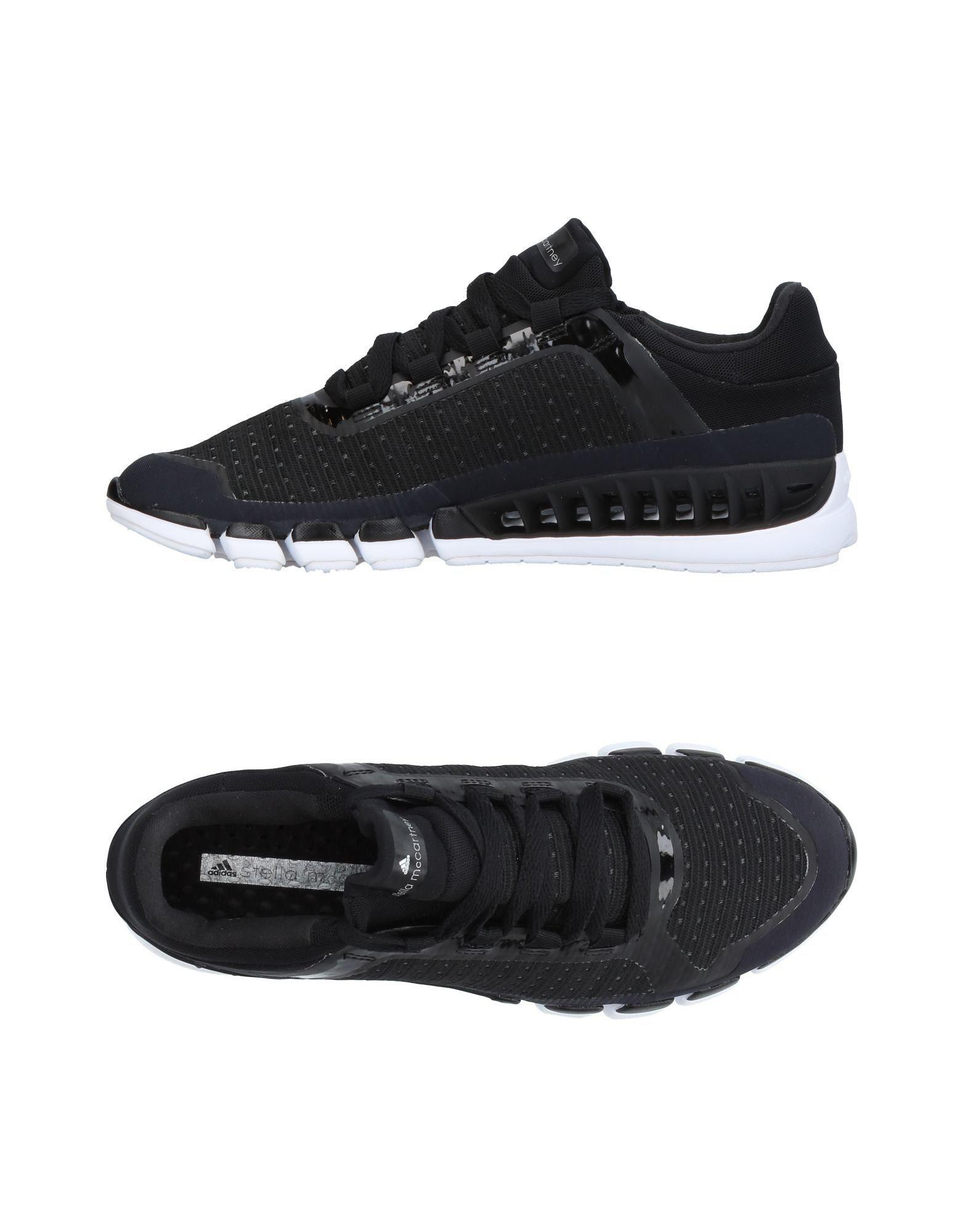 Adidas By Stella Mccartney Sneakers In Black