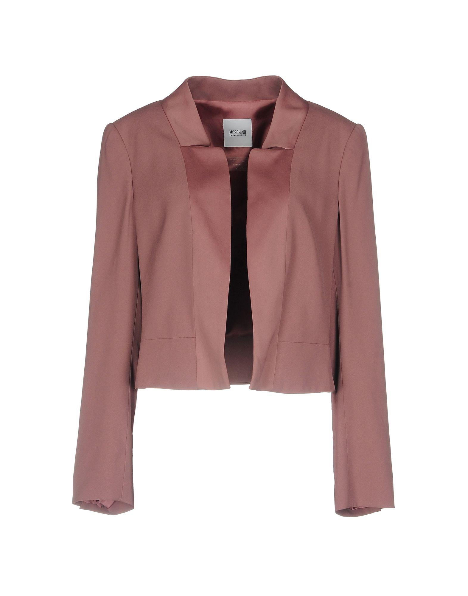 Moschino Cheap And Chic Blazer In Pastel Pink
