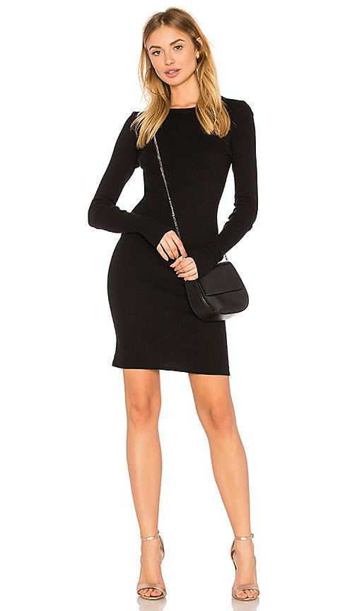 4ec5ca5e2d39 Enza Costa Cashmere Cuffed Mini Dress In Black | ModeSens