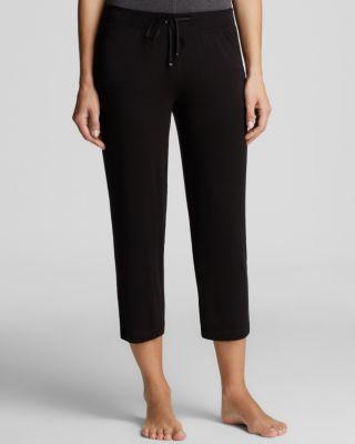 Dkny Urban Essential Capri Pants In Black
