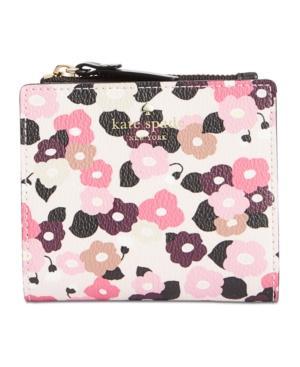 98147655a8e5 Kate Spade New York Hyde Lane Floral Adalyn Wallet In Rose Dew ...
