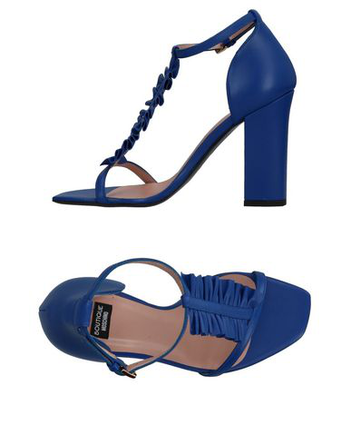 Boutique Moschino Sandals In Blue
