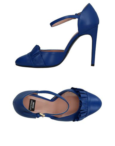 Boutique Moschino Pump In Blue