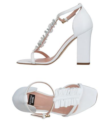 Boutique Moschino Sandals In White