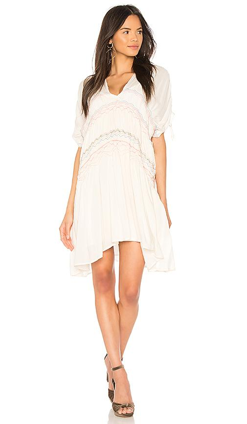 Free People Love On The Run Dress In Ivory