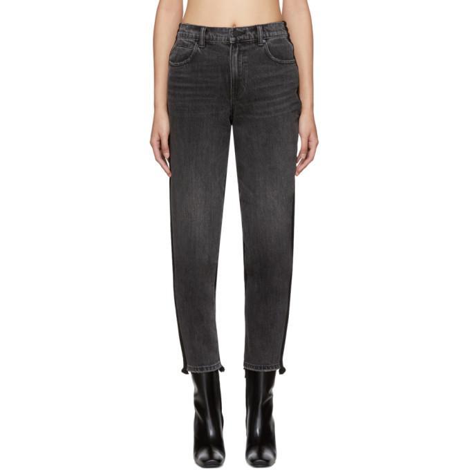 d56cd5f306 Alexander Wang Grey Hybrid Jeans