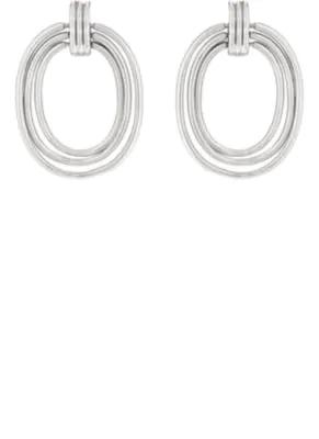 Pamela Love Helene Earrings - Silver
