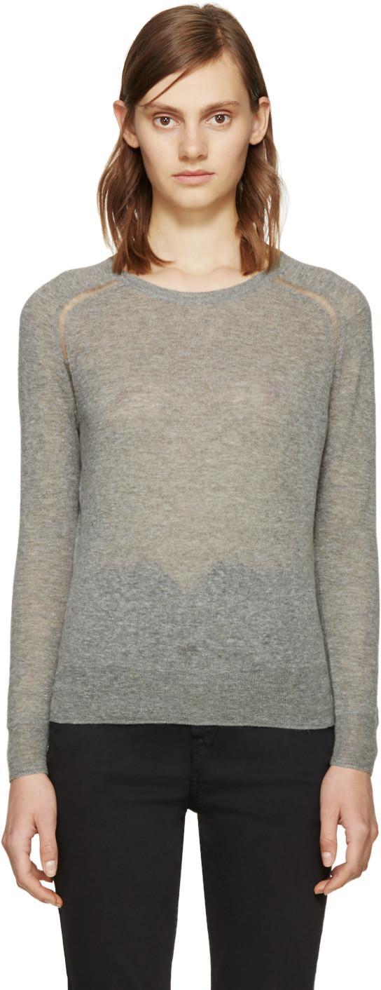 Etoile Isabel Marant Grey Foty Sweater