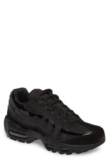more photos 3a937 b3087 Nike Air Max 95 Running Shoe In Black  Black  Anthracite